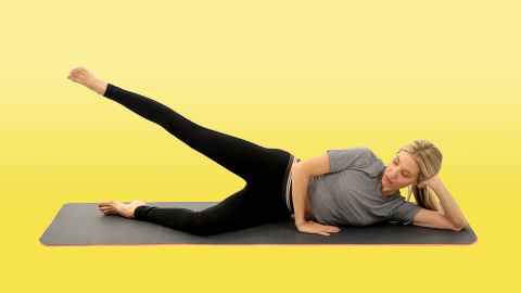 Sculpt Your Legs, Butt, and Abs With This Pilates Sequence | StyleCaster