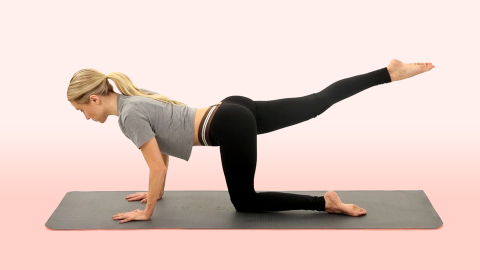 How to Tone Your Butt in 45 Seconds | StyleCaster