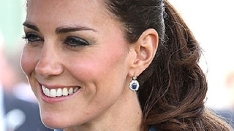 News: Duchess Kate Does a Ponytail; How to Get Second-Day Texture on Clean Hair | StyleCaster