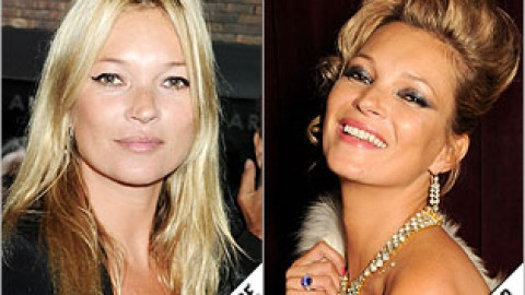 The Makeover Poll: Kate Moss' Fancy Updo | StyleCaster
