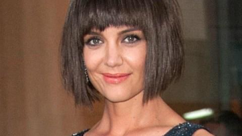 Breaking Hair News: Katie Holmes' Met Gala Bob | StyleCaster