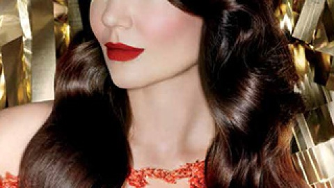 Katie Holmes' Red Lipstick Is So Gorgeous, We're Totally Copying It | StyleCaster