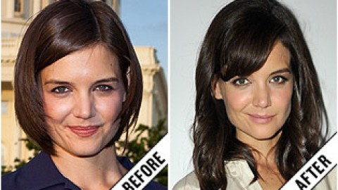 The Makeover Poll: Katie Holmes' Medium Waves | StyleCaster