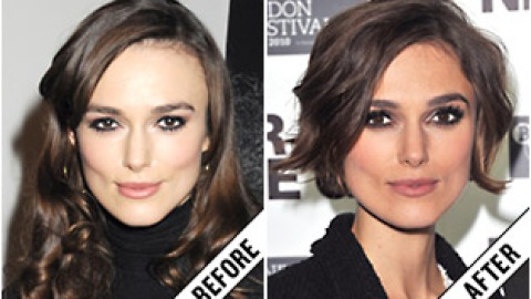 The Makeover Poll: Keira Knightley's Chic Crop   StyleCaster