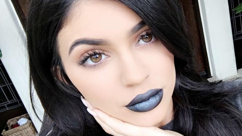 Kylie Jenner Thinks You're Ready for 'Black Metal Matte' Lips   StyleCaster