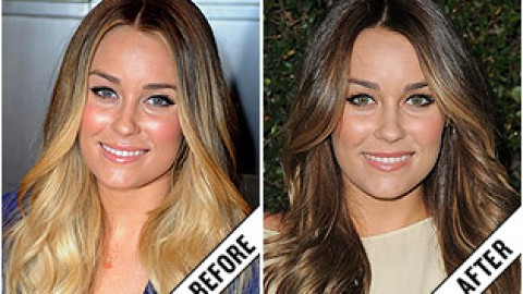 The Makeover Poll: Lauren Conrad's Brunette Locks | StyleCaster