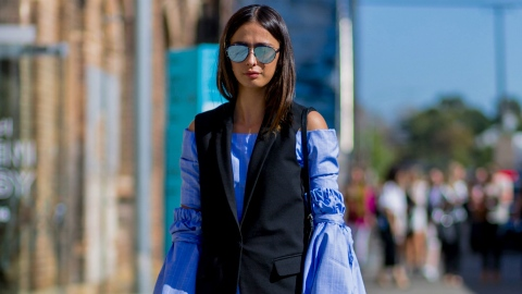 13 Sick Layering Ideas to Steal From Australian Street Style Stars | StyleCaster