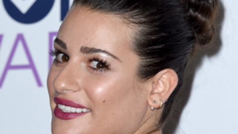 Lea Michele Just Updated the Messy Bun | StyleCaster