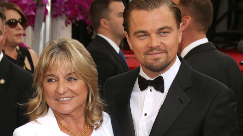 Here's the $18K Limited-Edition Chanel Bag Leo Just Bought for His Mom  | StyleCaster