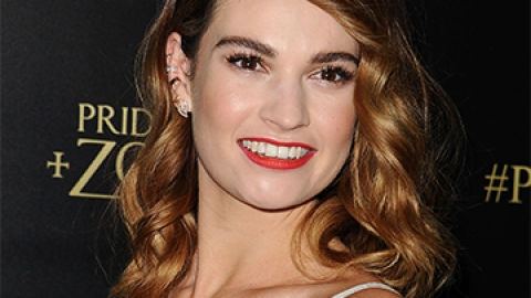News: Lily James's New Beauty Gig | StyleCaster