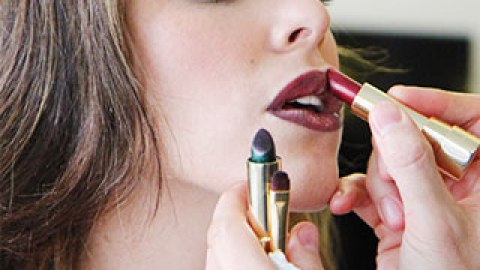 We Tried Dolce & Gabbana's Green Lipstick — And Were Totally Surprised   StyleCaster