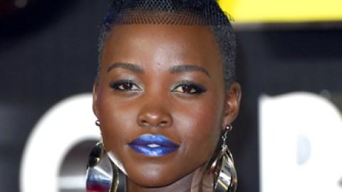 News: Get Lupita Nyong'o's Blue Lipstick | StyleCaster