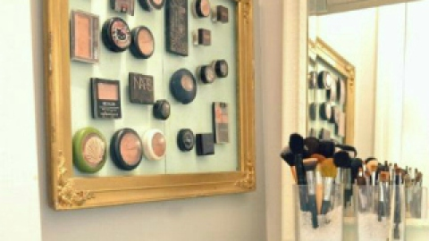 8 Brilliant Makeup Organizer Ideas | StyleCaster