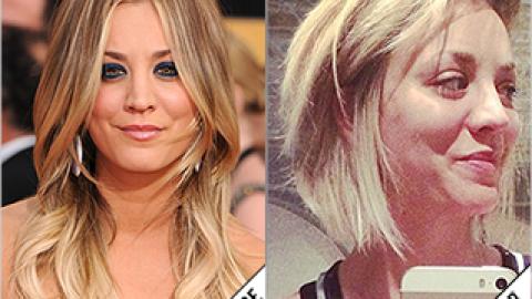 The Makeover Poll: Kaley Cuoco's New Bob | StyleCaster