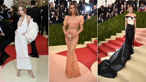 The 10 Best-Dressed Stars at the 2016 Met Gala | StyleCaster