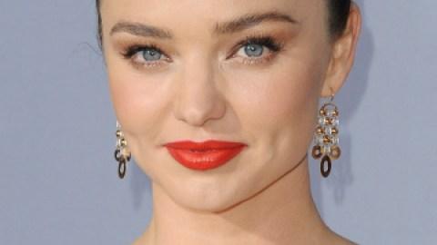 Get Miranda Kerr's Perfect Red Lipstick | StyleCaster