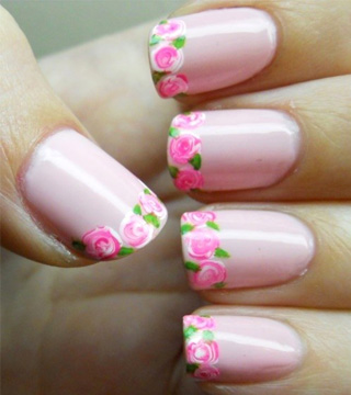 15 Must-Try Floral Manicures From Pinterest