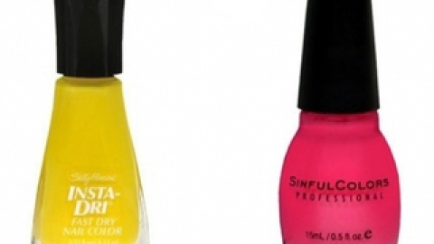 Top 10 Neon Polishes for Spring on the Cheap | StyleCaster