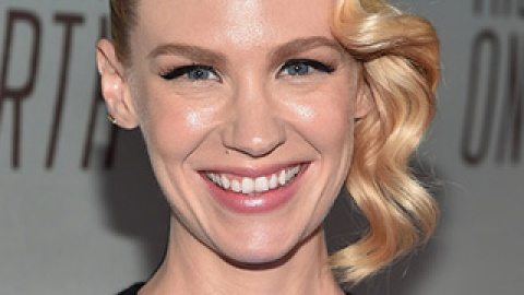 News: January Jones Goes Pink; Cartoon Eyelid Art That Will Blow Your Mind | StyleCaster