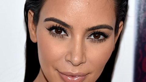 Kim K.'s Makeup-Free Magazine Cover | StyleCaster