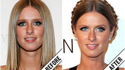 The Makeover Poll: Nicky Hilton's Chocolate Brown Bun | StyleCaster