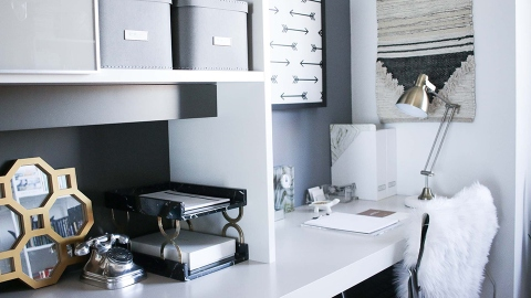 How to Create the Minimalist Home Office You've Always Wanted | StyleCaster
