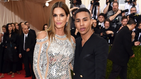 Balmain's Olivier Rousteing On Kanye's Blue Contacts and Diversity in Fashion | StyleCaster