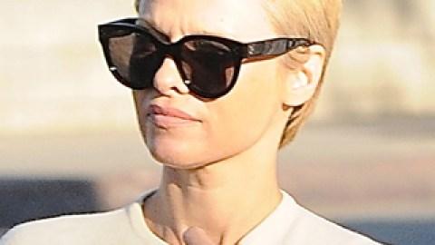 Makeover Alert! Pamela Anderson Got a Pixie Haircut | StyleCaster