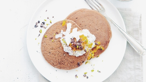 Fact: You Can Make These Fluffy Buckwheat Pancakes in a Blender | StyleCaster