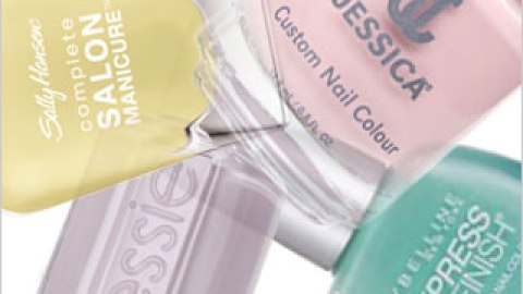 Pretty Opaque Pastel Polishes | StyleCaster