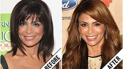 The Makeover Poll: Paula Abdul's Long Extensions   StyleCaster