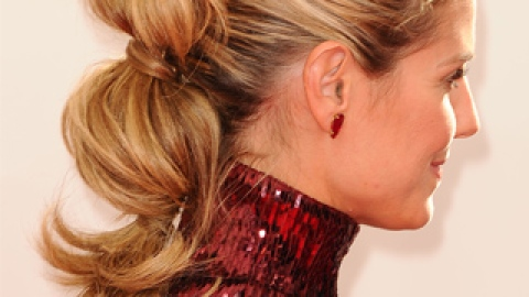 5 New Ways to Wear a Ponytail, Spotted at the Emmys | StyleCaster