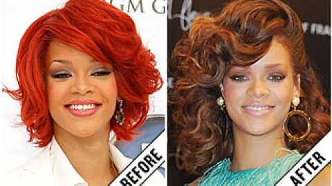 The Makeover Poll: Rihanna's Rust-Colored Locks | StyleCaster