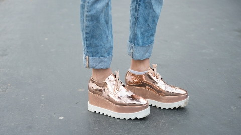 Time to Shine: 13 Pairs of Rose Gold Shoes to Shop Now | StyleCaster