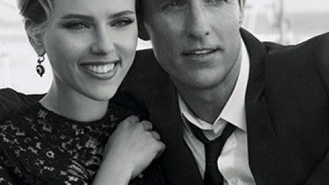 Scarlett Johansson and Matthew McConaughey Are Unbearably Cute in New Fragrance Film   StyleCaster
