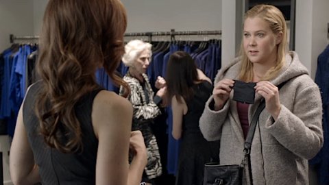 Guess Who Amy Schumer Finds When She Shops for a Size 12? | StyleCaster