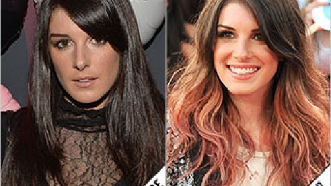 The Makeover Poll: Shenae Grimes's Rosy Ombré   StyleCaster