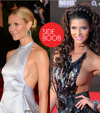 10 Celebrities Who Tried Showing Side Boob