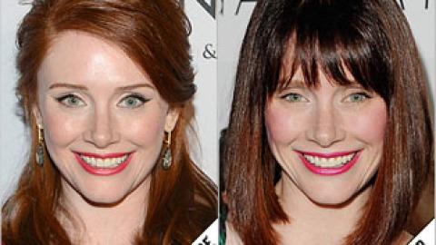 The Makeover Poll: Bryce Dallas Howard Shows Off Brunette Bob | StyleCaster