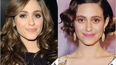 The Makeover Poll: Emmy Rossum's Faux Bob | StyleCaster