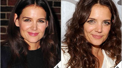The Makeover Poll: Katie Holmes Goes Curly | StyleCaster