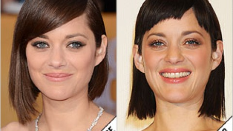 The Makeover Poll: Marion Cotillard's Micro Bangs | StyleCaster