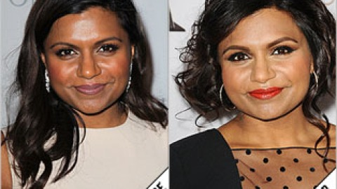 The Makeover Poll: Mindy Kaling's Pretty Updo | StyleCaster