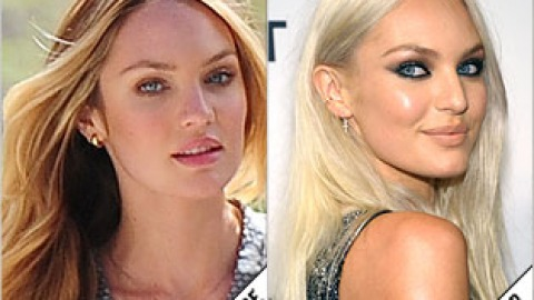 The Makeover Poll: Candice Swanepoel Goes Platinum | StyleCaster