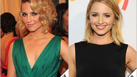 The Makeover Poll: Dianna Agron Straightens Up   StyleCaster