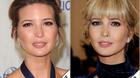 The Makeover Poll: Ivanka Trump Gets Blonde Bangs | StyleCaster