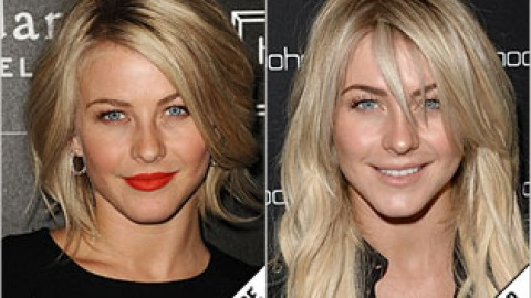 The Makeover Poll: Julianne Hough Goes Back to Extensions | StyleCaster