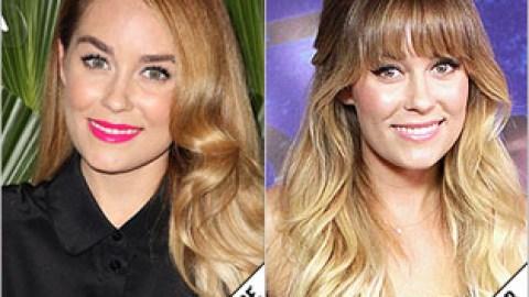 The Makeover Poll: Lauren Conrad Got Bangs | StyleCaster