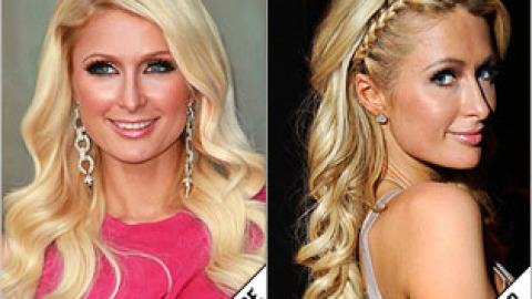 The Makeover Poll: Paris' Side Braid   StyleCaster