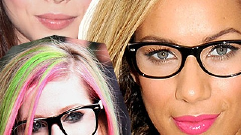 Geek Out! 10 Celebrities In Specs | StyleCaster